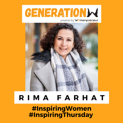 Inspiring women in Belgium: Meet Rima Farhat