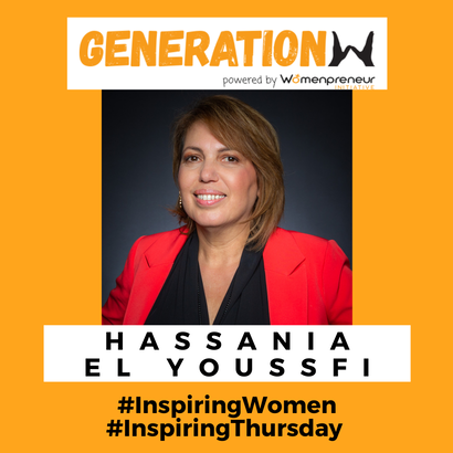 Inspiring women in Belgium: Meet Hassania El Youss...