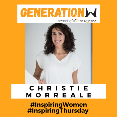 Inspiring women: Meet Christie Morreale!
